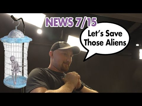 Storming Area 51 & Robot Umpires? – Good Night News 7/15