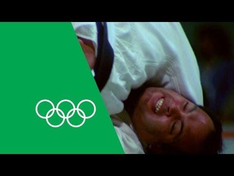 Yasuhiro Yamashita's Relives Olympic Judo Gold | Olympic Rewind