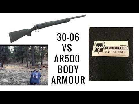 Will AR500 body armor stop a 30-06?
