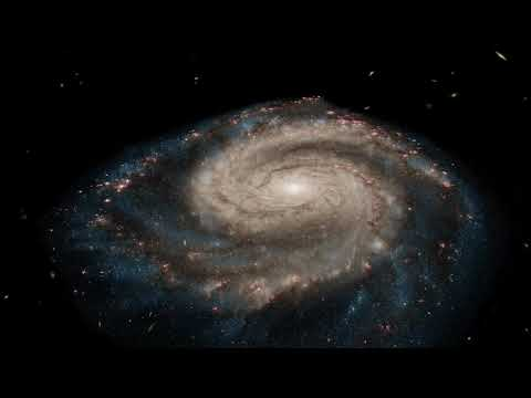 Virtual Flyby of the Whirlpool Galaxy