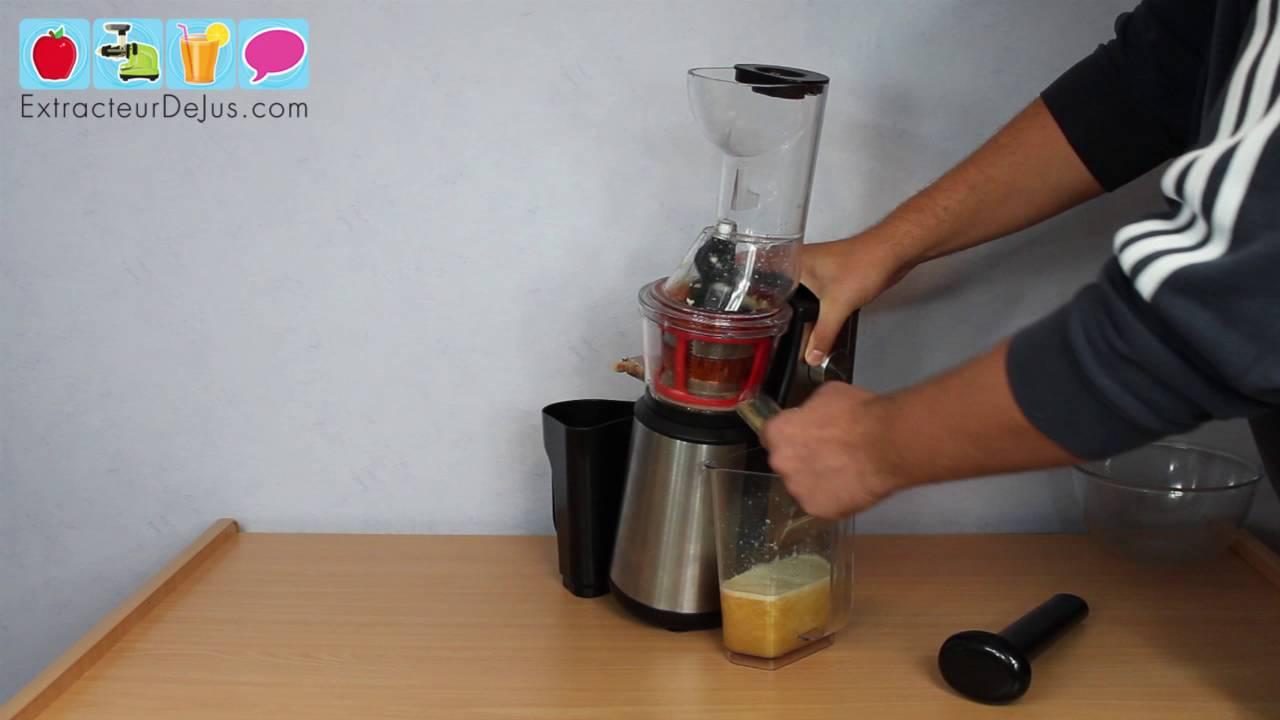 Jus de pomme avec l 39 extracteur de jus h koenig gsx18 youtube - Jus de pomme extracteur vapeur ...