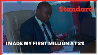 I began my career as a cleaner, made my first million at 21 and later became bankrupt |Biashara Talk