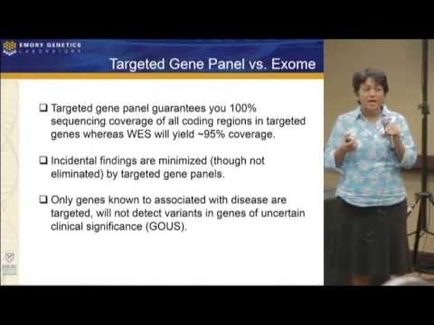 Dr. Madhuri Hegde Discusses Genetic Sequencing