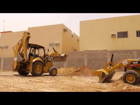 Cat® Backhoe Loader 422E Rental For Ground Preparation
