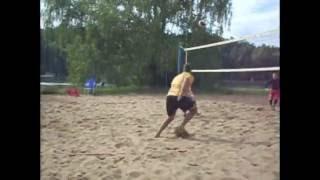 8-bit beach volley challenge