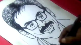How to Draw Hero VENKATESH Drawing for Kids