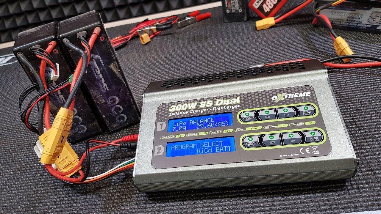 Заряжаем 8 БАНОК! ... Обзор зарядки для аккумуляторов Extreme 2X150W 7A