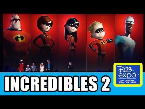 INCREDIBLES 2 Cast Presentation At Disney D23 Expo