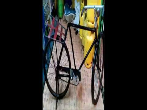 Old Raleigh Bicycle Antique