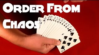 Great Card Trick - Order From Chaos!