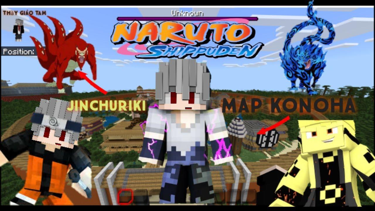 Cách Cài Mod/Addon Naruto Minecraft Pe/MCPE   How To install Naruo Minecraft Pe 1.14