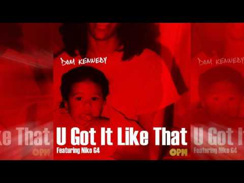 Dom Kennedy - U Got It Like That ft. Niko...