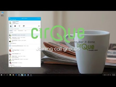 Skype for Business - Joining call groups (response groups)