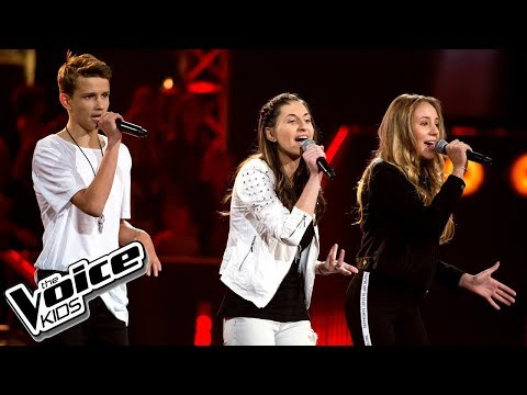 "Janicki, Kruk, Bińczyk - ""Treat You Better"" - Bitwy - The Voice Kids Poland 2"