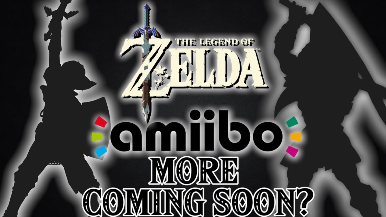 BREATH OF THE WILD TEASES MORE ZELDA AMIIBO COMING SOON?!