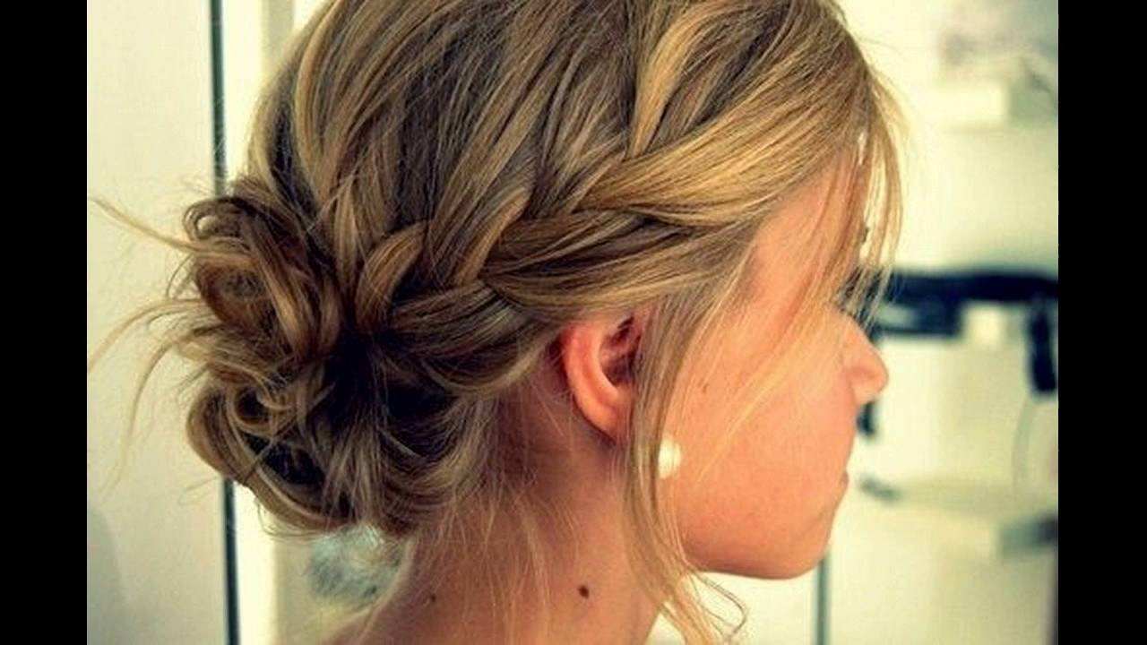 hair styles step by step low bun with braids hairstyle gives steps to make 2291