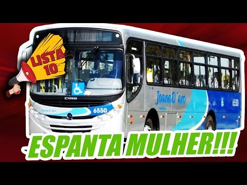 10 CARROS ESPANTA MULHER (by inscritos)