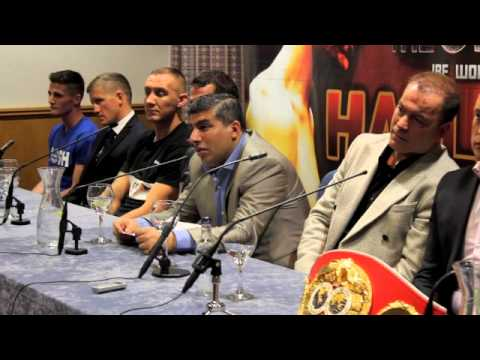 'CLASH OF THE CLANS' PRESS CONFERENCE - HALL v WARD / DICKINSON / CHAMBERS / SAUNDERS