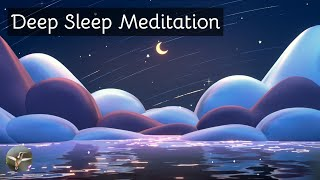 Deep Sleep Music | Serenity Sleep Music | Soothing Relaxation Music | Relaxing Music | Moon & Stars