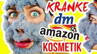 NEUE, KRANKE DROGERIE BEAUTY PRODUKTE! Live DM HAUL Test! 😖 + Amazon NEUHEITEN! WERBUNG vs. REALITÄT