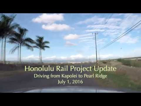Rail Project update July 2016