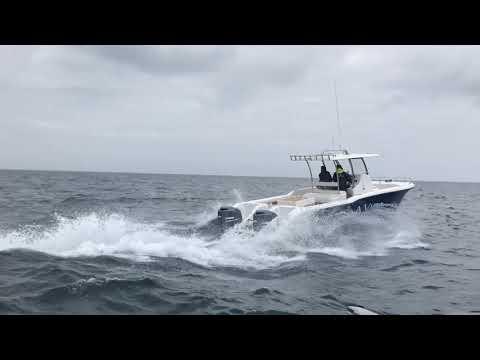 A Walk Around The Magnum Power Catamaran Centre Console Model