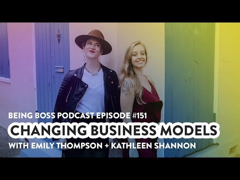 Changing Business Models   Being Boss Podcast
