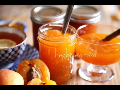 How to Make Homemade Apricot Jam - Apricot Jam Recipe - Heghineh Cooking Show