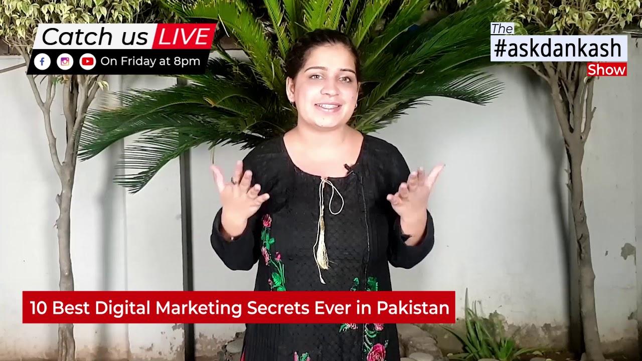 10 Best Digital Marketing Secrets Ever in Pakistan