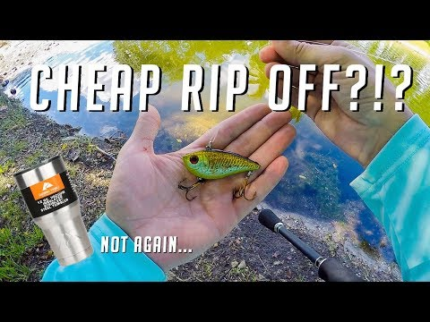 Walmart Brand Fishing Lures? Who Did They Copy Now? Field Test And Review