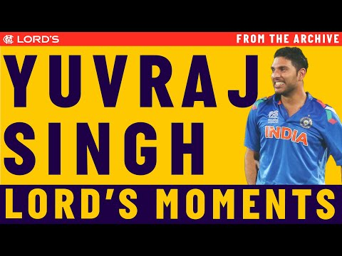 Yuvraj Singh's Highlights | MCC vs ROW Lord's Bicentenary ...