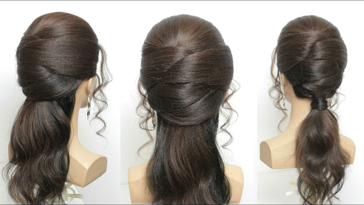 2 Party Hairstyles For Long Hair Step By Step