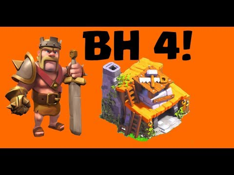 WE MADE IT TO BUILDER HALL 4!! Baby Dragons, Clock Tower Clash Of Clans Let's Play Episode 87