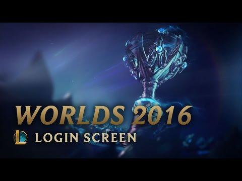 Worlds 2016 Finals | Login Screen - League of Legends