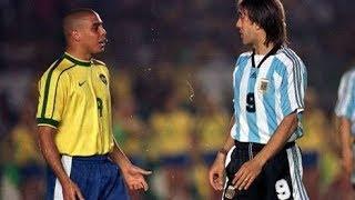 Ronaldo vs Batistuta (Barcelona vs Fiorentina 1996-1997)