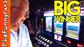 OLD MAN WINS BIG ON CASINO SLOT MACHINES - Things To Do in Louisiana [Baldwin, LA]
