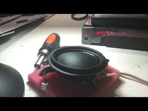 B&O A2 Woofer Playing Bad Karma Music = Bass Test