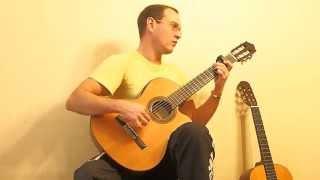 Прекрасное делёко на гитаре.  Фингерстайл.