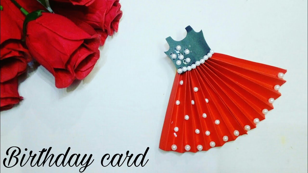 How To Make Handmade Birthday Card For Sister Diy Pop Up Birthday Card Making Youtube