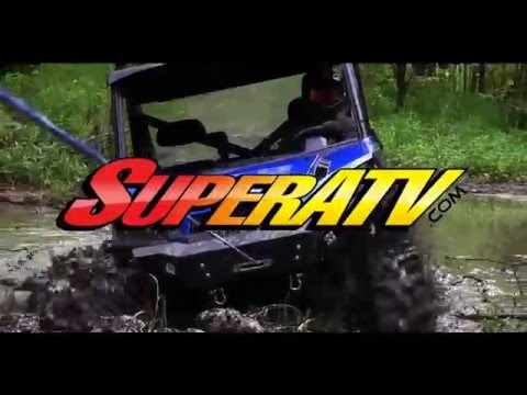 Polaris Ranger Front and Rear Winch Bumpers - SuperATV