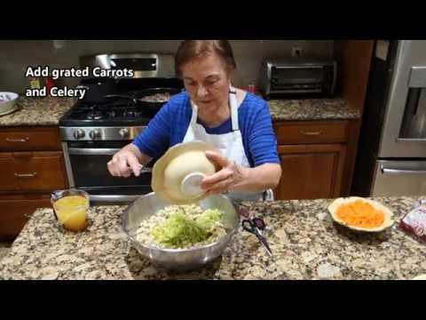 Italian Grandma Makes Thanksgiving Stuffing