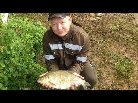 Рыбалка на фидер. р. Вятка (большой лещ) - YouTube