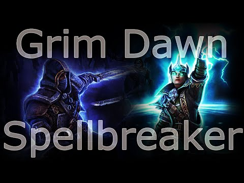 Grim Dawn (b24) - The Conflagration / Arcanist lv40 | FunnyCat TV