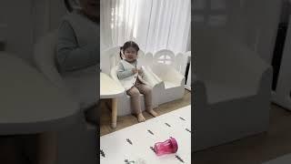 31개월 아기 혼자 단추 채우기