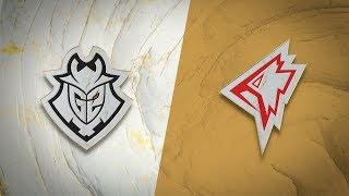 G2 vs GRF | Worlds Group Stage Day 6 | G2 Esports vs Griffin (2019)