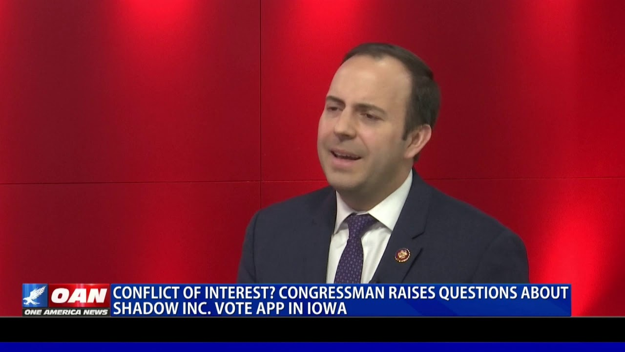 GOP Rep. Gooden raises questions about app used in Iowa caucus - OAN