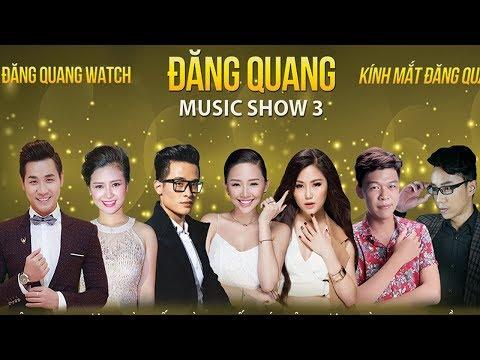 Liveshow Nhạc Trẻ 2019 | Hương Tràm, Tóc Tiên, Hà Anh Tuấn | Đăng Quang Music show 3