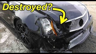 Download I bought a Cheap Wrecked CTS-V and its Hiding $2000 in mods Mp3 and Videos
