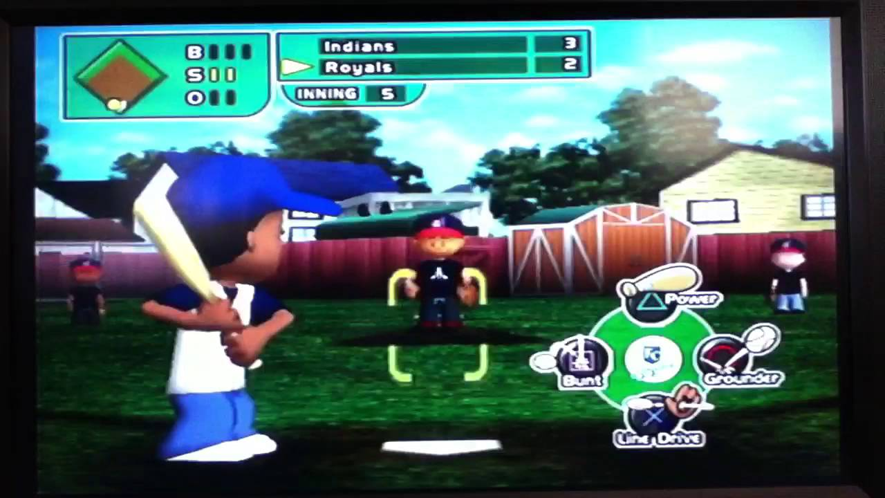 backyard baseball game 1 part 2 youtube