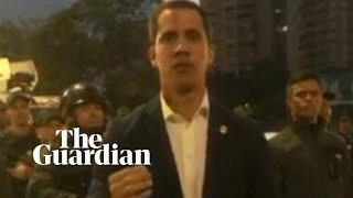 Venezuelan opposition leader Guaidó calls for coup against Maduro